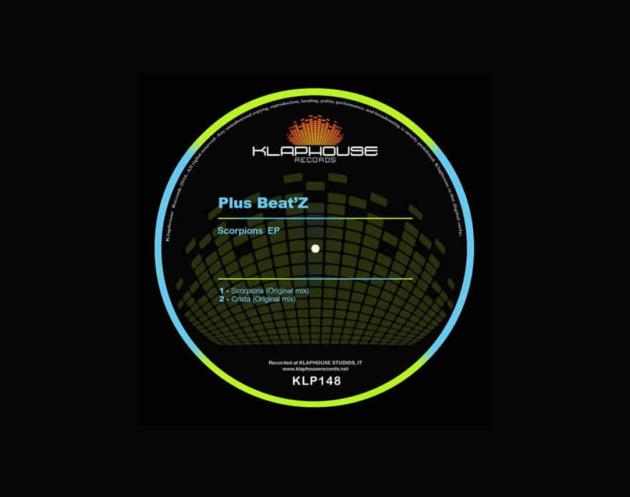EP Scorpions - Plus Beat'Z - Lançado pela Label italiana Klaphouse Records contando com 02 originais tracks: Scorpions e Crista.